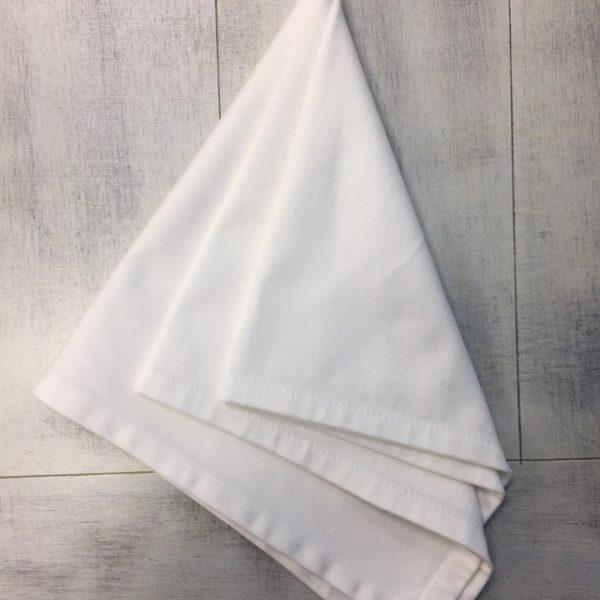 салфетка белая