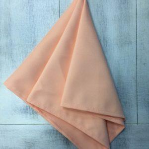 салфетка персиковая