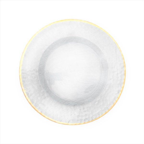 Тарелка прозрачная