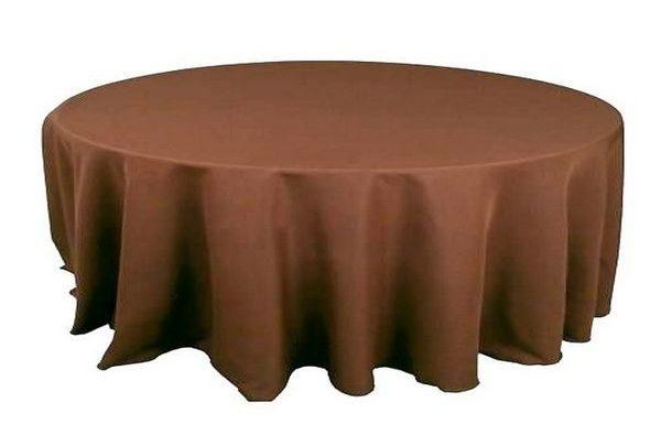 скатерть шоколад коричневая