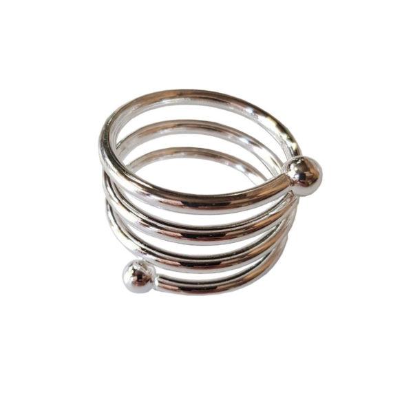 кольцо для салфетки серебро