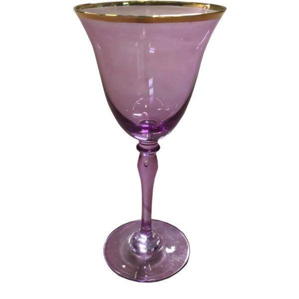 бокал фиолетовый