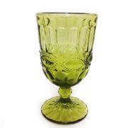 бокал зеленый стекло