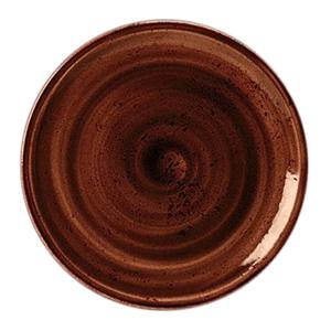 Тарелка мелкая «Craft Planet» фарфор D=25см Марс (терракот)
