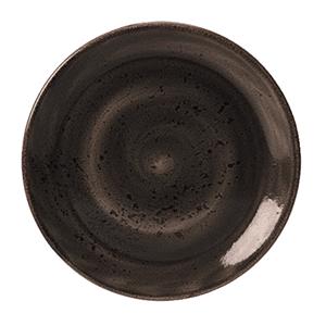 Тарелка мелкая «Craft Planet» фарфор D=23см Меркурий (серая)