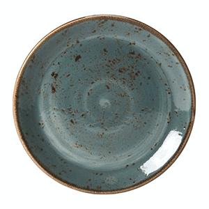 Тарелка мелкая «Craft Planet» фарфор D=23см Нептун (синяя)