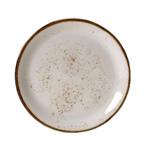 Тарелка мелкая «Craft Planet» фарфор D=23см Плутон (белая)
