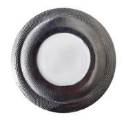Тарелка серебро фарфор