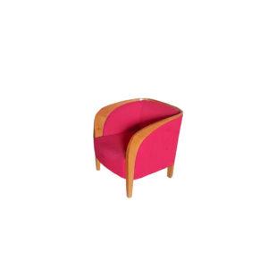 """Кресло """"Лихтенштейн"""" красное"""