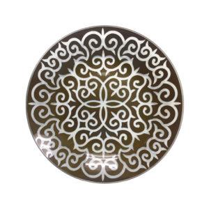 Тарелка Марокко 26см шоколад