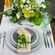 Бокал для воды «Lily» стекло 420мл зеленый