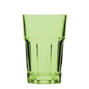 стакан зеленый