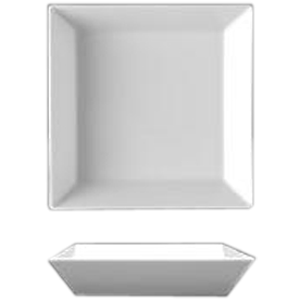 Салатник квадратный «Оригами» фарфор 350мл