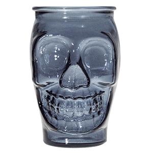 Стакан д/коктейлей «Crazy» стекло 450мл синий