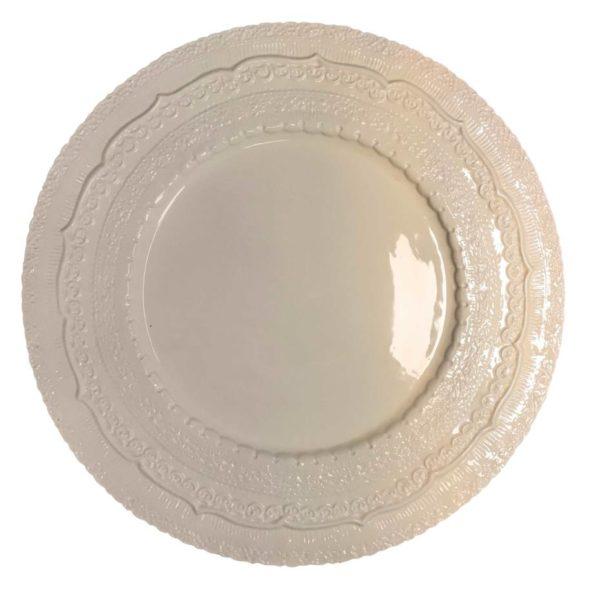 тарелка кружево