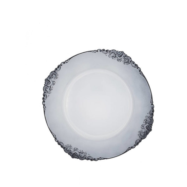 тарелка подстановочная пластик