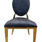 стул золото черный
