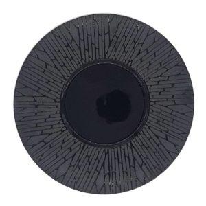 тарелка черная