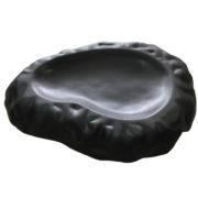 блюдо черное матовое